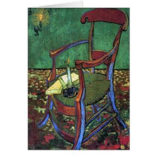 Paul Gauguin's Armchair by Vincent van Gogh 1888 Greeting Card