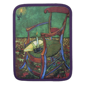 Paul Gauguin's Armchair by Vincent van Gogh 1888 iPad Sleeve