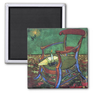 Paul Gauguin's Armchair by Vincent van Gogh 1888 Refrigerator Magnet