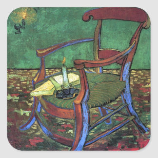 Paul Gauguin's Armchair by Vincent van Gogh 1888 Stickers