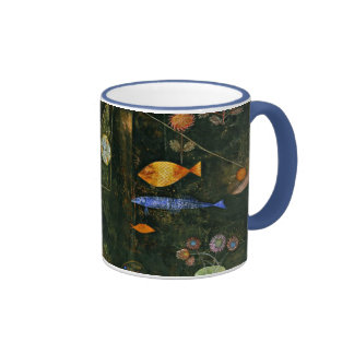 Paul Klee art Fish Magic famous Klee painting Mug