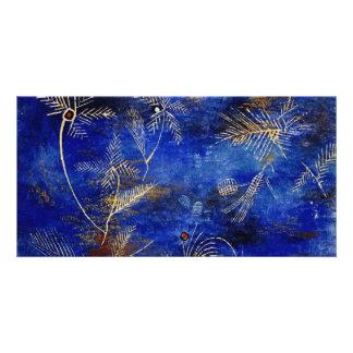 Paul Klee Fairy Tales Abstract Art Photo Greeting Card