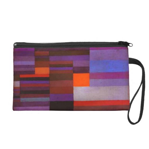 Paul Klee Fire in the Evening Wristlet