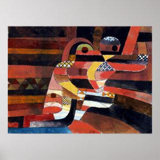 Paul Klee Lovers Poster