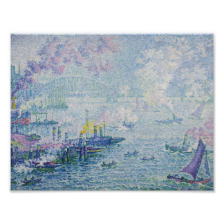 Paul Signac - The Port of Rotterdam Poster