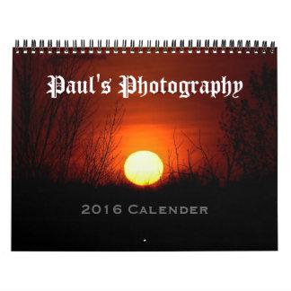 Paul's Photography Calendar 2016