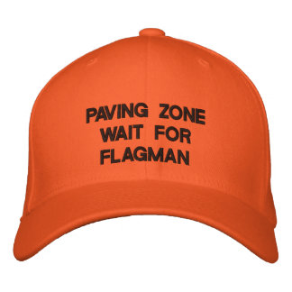 PAVING ZONE EMBROIDERED HAT