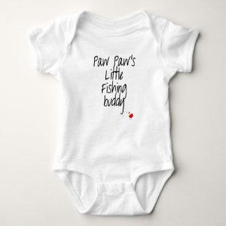Paw Paw's Little Fishing Buddy Baby Bodysuit