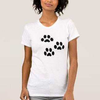Paw Print Heart Boston Terriers T-Shirt