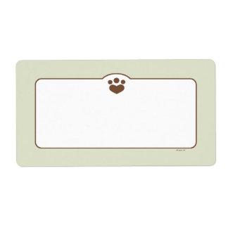 Paw Print Off-Leash Art™ Pet Bin Organization