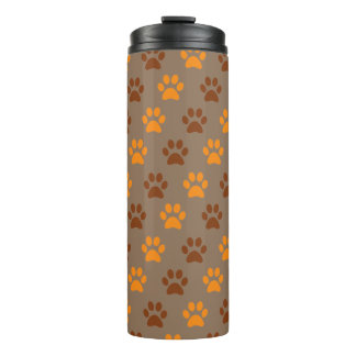 Paw Print Thermal Tumbler