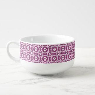Paws-for-Soup Mug (Berry) Soup Mug