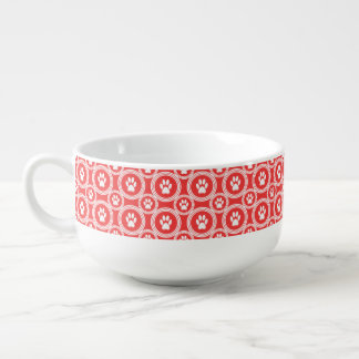 Paws-for-Soup Mug (Orange) Soup Mug