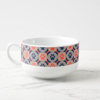 Paws-for-Soup Mug (Spice/Navy) Soup Mug