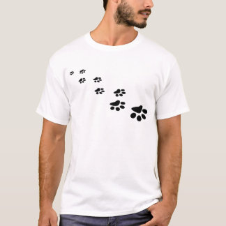 PAWS! (puppy dog paw prints) ~ T-Shirt
