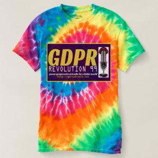 Paxspiration GDPR Tie-Dye Men's Tee