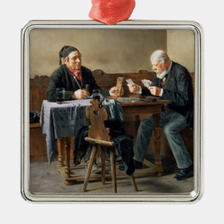 Pay Day, 1887 Christmas Ornament