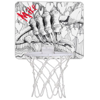 PAZUR Mini Basketball Goal Mini Basketball Hoop
