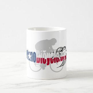 PBA Plano Cycling Logo Texas Shadow gifts Basic White Mug