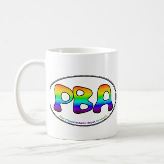 PBA White Oval 15oz Mug
