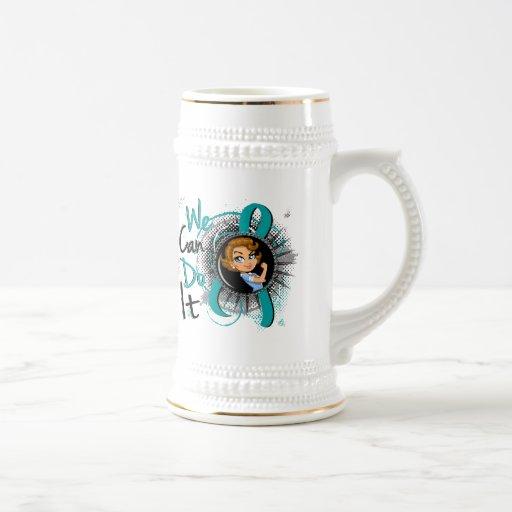 PCOS Rosie Cartoon WCDI.png Coffee Mugs