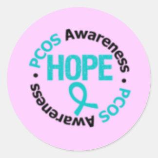 PCOS Support Sticker! Classic Round Sticker