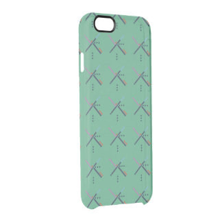 PDX Airport Carpet Clear iPhone 6/6S Case