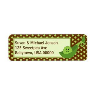 Pea in a Pod Return Address Avery Label