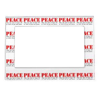 Peace3.jpg Magnetic Frame