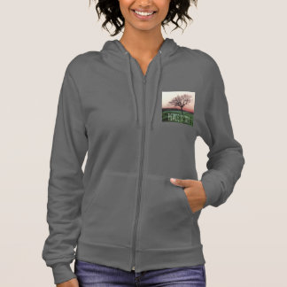Peace and joy, customizable jumper with a tree hoodie