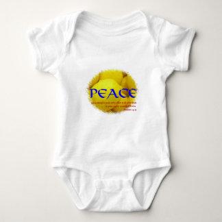 Peace Baby Bodysuit