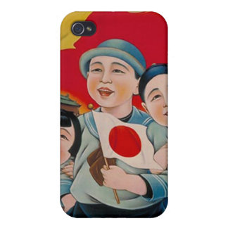 Peace be with Japan iPhone 4 Cover