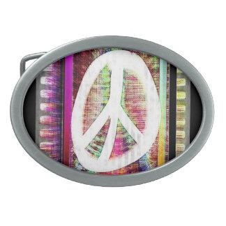 Peace Belt Belt Buckle