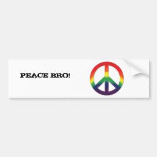 Peace! Bumper Sticker