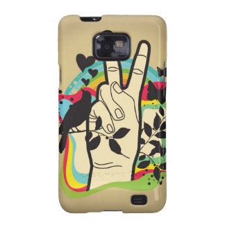 Peace Galaxy SII Covers