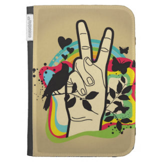 Peace Kindle Keyboard Cases