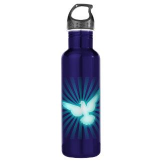 Peace dove 710 ml water bottle