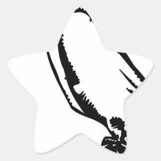 Peace Dove Star Sticker