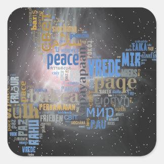 Peace Dove Universal Sticker