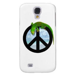 PEACE GECKO GALAXY S4 CASE