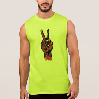 Peace Hand Sleeveless T-shirt