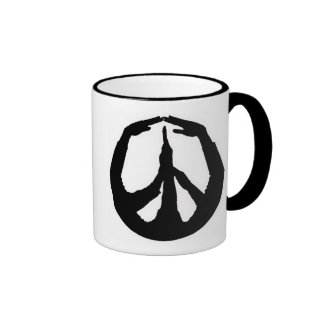Peace Hands Coffee Mug