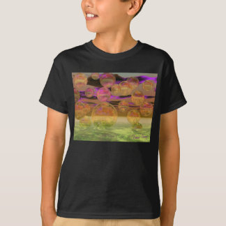 Peace in the Storm – Violet and Amber Tranquility T-Shirt