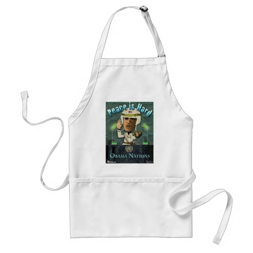 Peace Is Hard Aprons