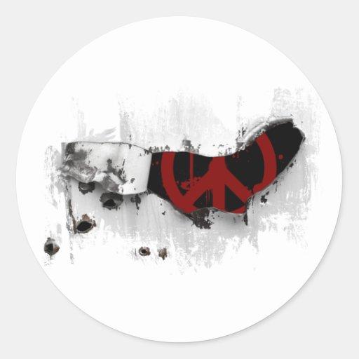 Peace keeper sticker