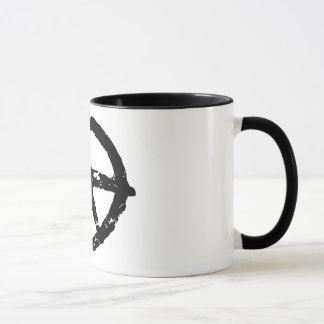 peace logo mug