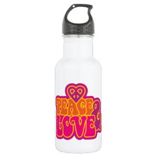 Peace & Love 532 Ml Water Bottle