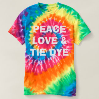 Peace, Love, and Tie Dye T-Shirt