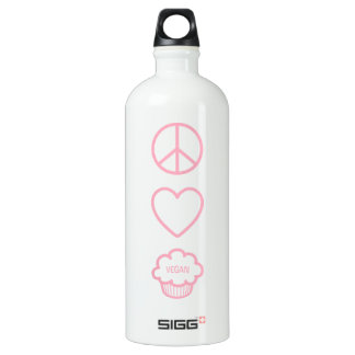 Peace, Love and Vegan Cupcakes Liberty Bottle SIGG Traveller 1.0L Water Bottle