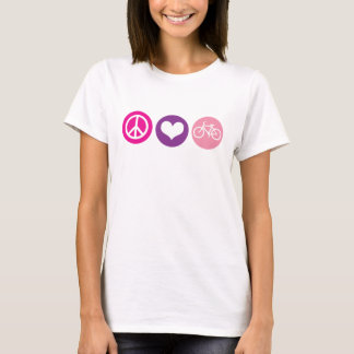 Peace Love Bike, Color pallette 4 T-Shirt